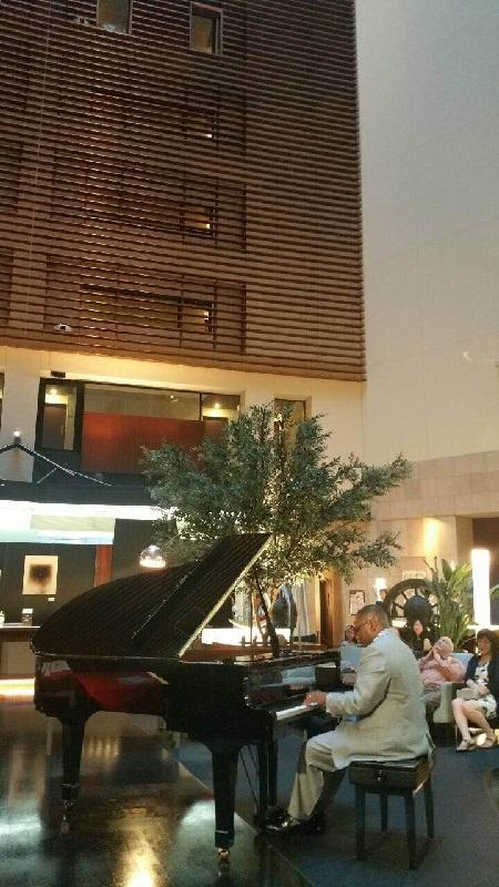 """Pianist """"Greg Mckenzie"""" at Park Hotel Tokyo"""